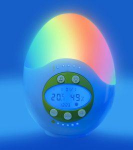 Les stations bien tre pour la chambre de b b ma veilleuse bebe mvb - Thermometre hygrometre chambre bebe ...