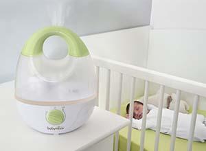 humidificateurs d air pour la chambre de b b ma veilleuse bebe mvb. Black Bedroom Furniture Sets. Home Design Ideas